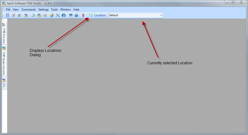 Using the Location's Feature - Spirit Software Solutions