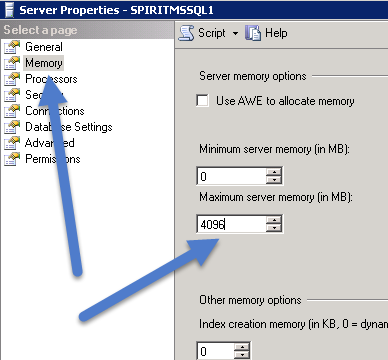 sqlservermemorysettings